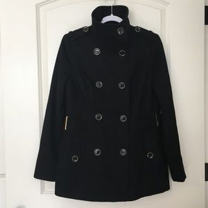 Michael Kors Wool Blend Pea Coat